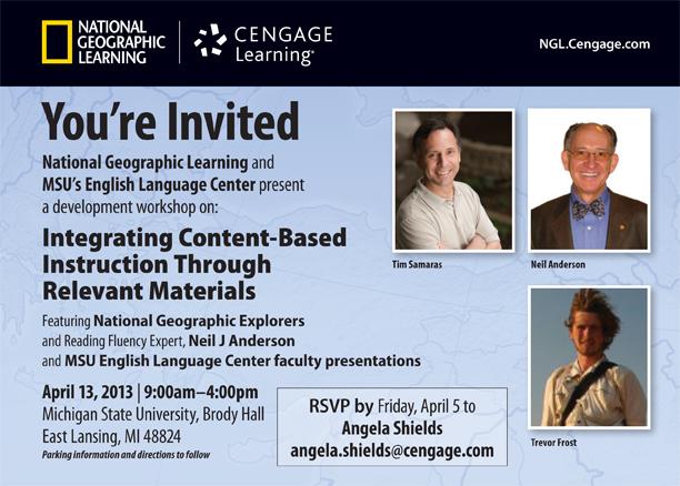 NGL MSU ELC Conference April 13